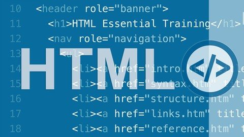 Download] HTML Essential Training Udemy Free Download
